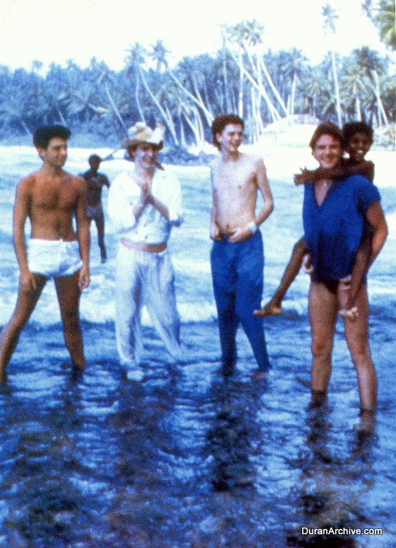 DD on location in Sri Lanka (1984)